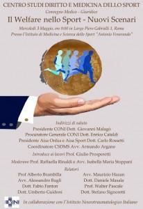 Convegno medico-giuridico Roma 3 maggio 2017