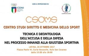Centro Studi Diritto Medicina Sport