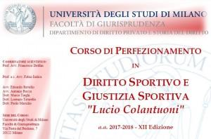 Workshop sul doping Università di Milano 3 maggio 2018